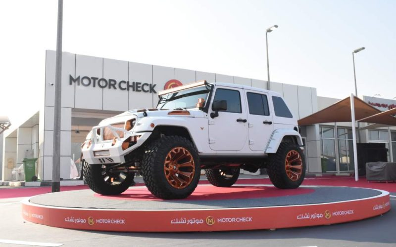 Launch event of MotorCheck at Souq Al Haraj
