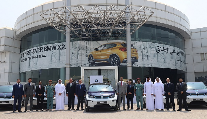 Sharjah's 'Rafid' operates first electric cars