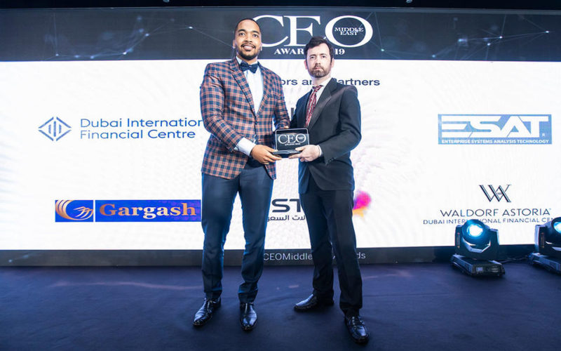 Winners of the CEO Middle East Awards 2019
